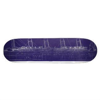 Modelo original titánico del RMS, aumentado para Patines