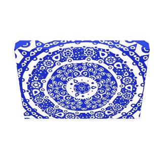 Modelo ornamental impresiones en lona estiradas