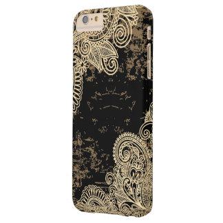 Modelo ornamental oriental de los cordones funda de iPhone 6 plus barely there