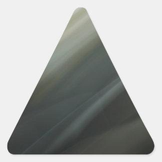 Modelo oscuro de la falta de definición de movimie calcomanías trianguloes personalizadas