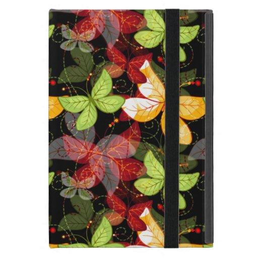 Modelo oscuro del otoño iPad mini carcasas