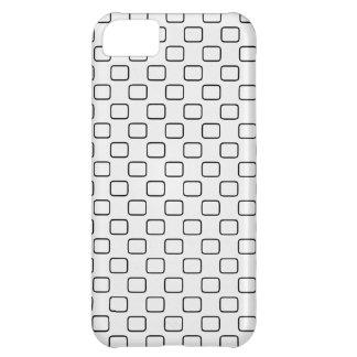 Modelo oval rectangular funda para iPhone 5C