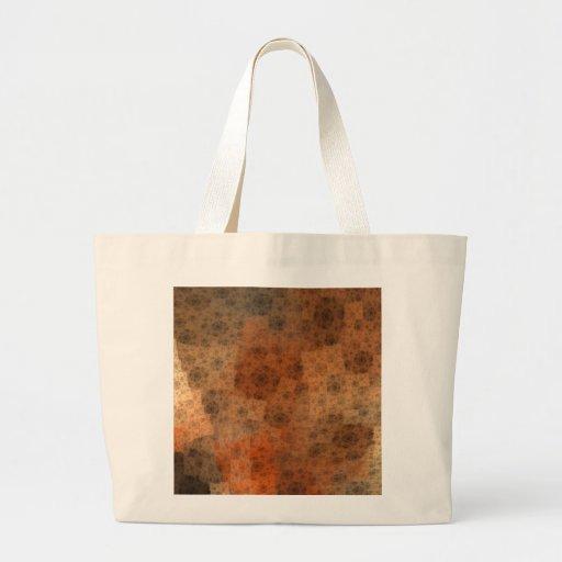 Modelo oxidado del fractal bolsa de mano