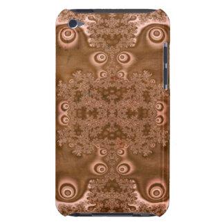 Modelo oxidado del fractal del metal de Brown del iPod Touch Cobertura