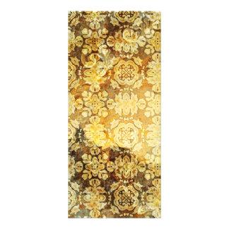 Modelo oxidado del oro verde lonas