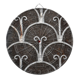 modelo oxidado del vintage tablero dardos