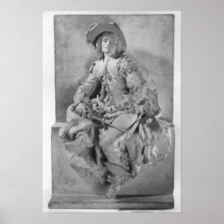 Modelo para el monumento a Alejandro Dumas Pere Posters