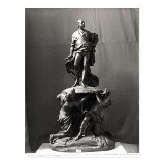 Modelo para el monumento de Louis XV Tarjetas Postales
