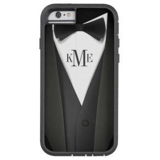 Modelo para hombre del smoking - monograma único funda tough xtreme iPhone 6