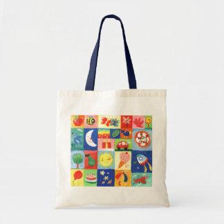 modelo para los niños bolsa tela barata