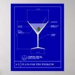 Modelo para un Martini Impresiones
