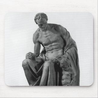 Modelo para un monumento a Jean-Jacques Rousseau Mouse Pads