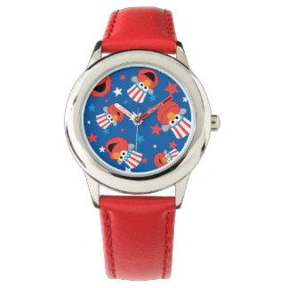 Modelo patriótico de Elmo Relojes De Mano