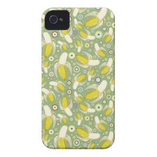 Modelo pelado de los plátanos iPhone 4 Case-Mate carcasas