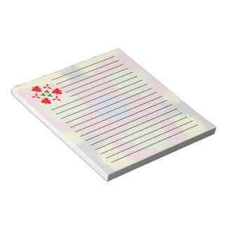 Modelo peludo moderno del cepillo libretas para notas