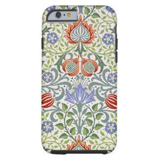 Modelo persa floral del vintage de William Morris Funda De iPhone 6 Tough