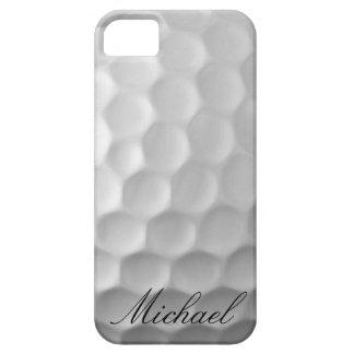 Modelo personalizado de la textura de los hoyuelos iPhone 5 carcasa