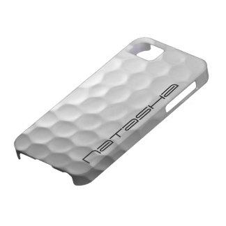 Modelo personalizado de la textura de los hoyuelos iPhone 5 funda