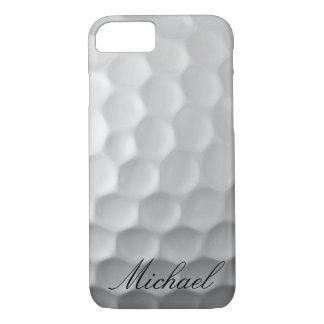 Modelo personalizado de la textura de los hoyuelos funda iPhone 7