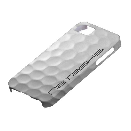 Modelo personalizado de la textura de los hoyuelos funda para iPhone SE/5/5s