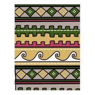 Modelo peruano postales