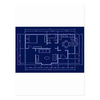 modelo - plan de la casa postales