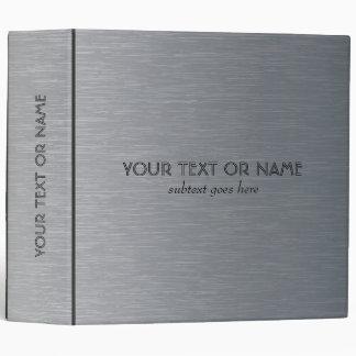 """Modelo-Plantilla de aluminio cepillada gris clara  Carpeta 2"""""""