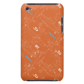 Modelo polvoriento barely there iPod protector