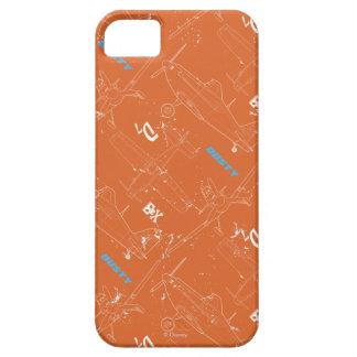 Modelo polvoriento iPhone 5 cárcasa