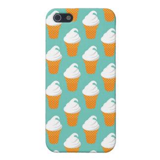 Modelo poner crema del cono de Vanilla Ice iPhone 5 Cobertura