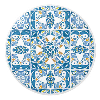 Modelo portugués de la teja pomo de cerámica