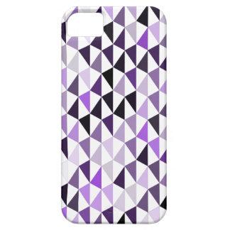 modelo púrpura 03 de la pirámide funda para iPhone SE/5/5s