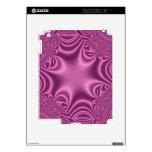 modelo púrpura abstracto iPad 2 skin