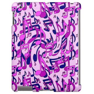 Modelo púrpura azul de la música del rosa de las