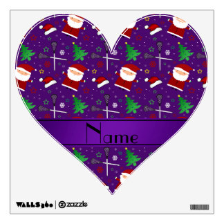 Modelo púrpura conocido de encargo del navidad del