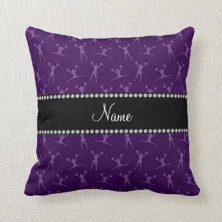 Modelo púrpura conocido personalizado de la almohadas