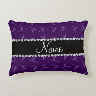 Modelo púrpura conocido personalizado de la cojín decorativo
