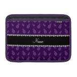 Modelo púrpura conocido personalizado de la piña fundas macbook air
