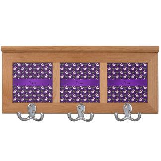 Modelo púrpura conocido personalizado de los bolos