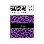 Modelo púrpura conocido personalizado del leopardo