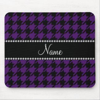 Modelo púrpura conocido personalizado del mousepad