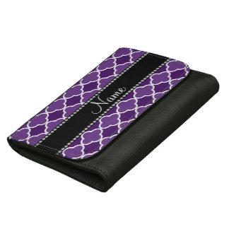 Modelo púrpura conocido personalizado del quatrefo