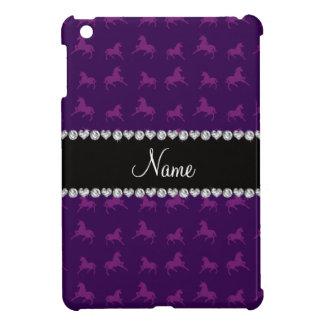 Modelo púrpura conocido personalizado del unicorni