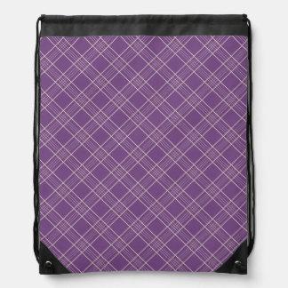 Modelo púrpura de color violeta oscuro de la tela  mochila