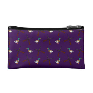 modelo púrpura de la caza del pato