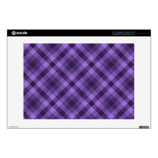 Modelo púrpura de la guinga portátil skin