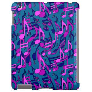 Modelo púrpura de la música del verde azul del