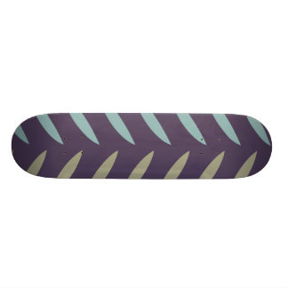 """Modelo púrpura de la pluma patineta 7 1/4"""""""