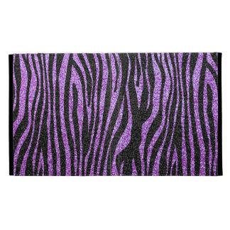 Modelo púrpura de la raya de la cebra (falso brill