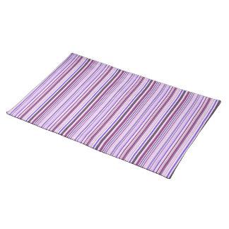 Modelo púrpura de la raya mantel